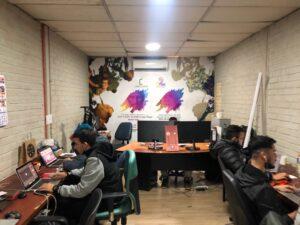 Nuestro equipo trabajando